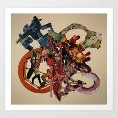 planetary obsolescence Art Print