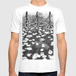 Escher- Three Worlds T-shirt