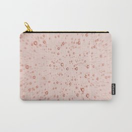 Rose Pink Champagne Bubble Explosion Carry-All Pouch