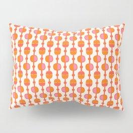 Mid Century Retro Dots Pillow Sham