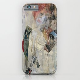 Women who run with wolves I. Baba Jaga iPhone Case