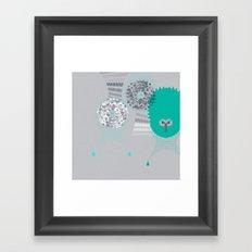 PARACHUTIST Framed Art Print