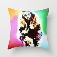 waldo Throw Pillows featuring Waldo  by Enna