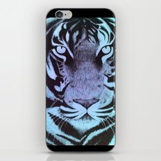 Be a Tiger (Blue) iPhone Skin