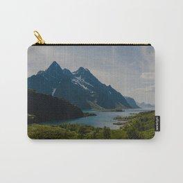 Midsummer Dream in Lofoten Norway Carry-All Pouch