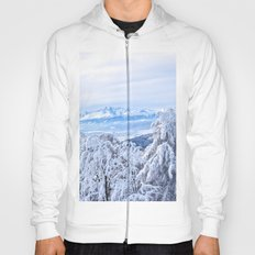 White out #mountains #winter Hoody