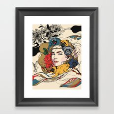 Let My Baby Stay Framed Art Print