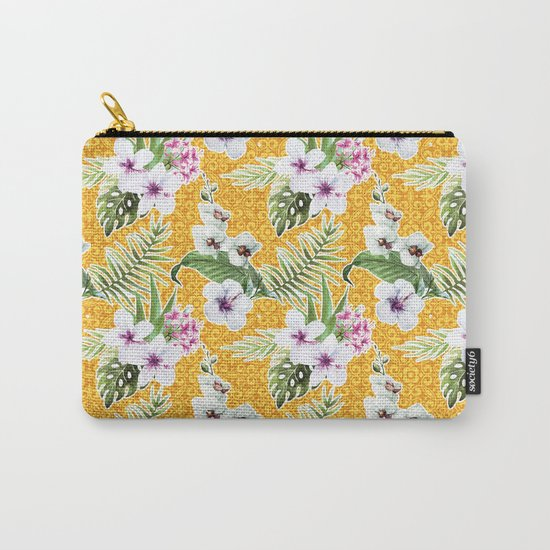 Tropical Summer #15 Carry-All Pouch