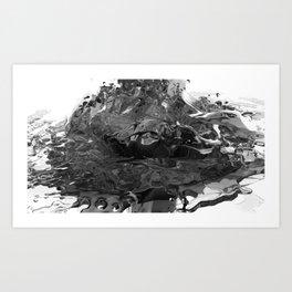 Chrysocolla (series) - 04 Art Print