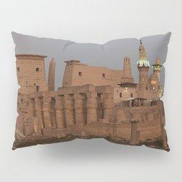 Temple of Luxor, no. 31, night scene Pillow Sham