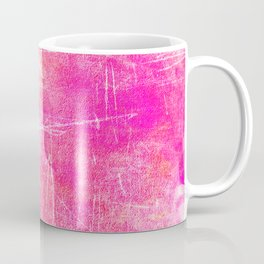 Surreal pink color scratches Coffee Mug