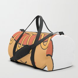 I Absolutely Love Hot Dogs Duffle Bag