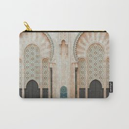 Mosque Hassan II in Casablanca, Morocco Carry-All Pouch