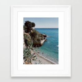 Nice. Framed Art Print