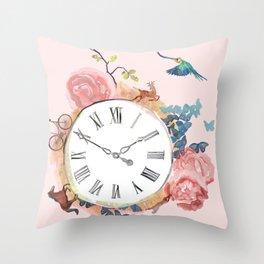 A Beautiful Rush Throw Pillow