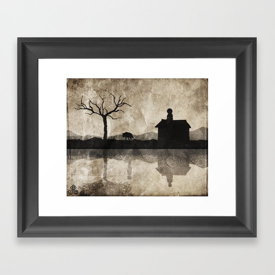 when are you coming home? Framed Art Print