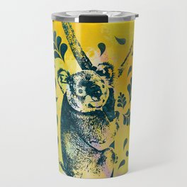 Koala Bear Digital Art Travel Mug