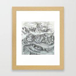 Yetislide Framed Art Print