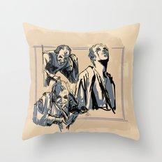 Floki Sketches 2 Throw Pillow