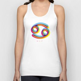 Cancer ~ Zodiac Unisex Tank Top