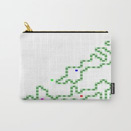 R Experiment 7 (Xmas snake tree) Carry-All Pouch