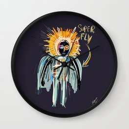 Super Fly Wall Clock
