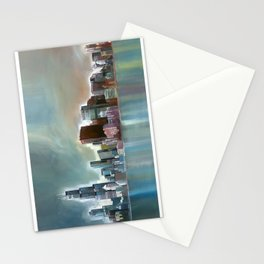 Chicago At Noon Stationery Cards