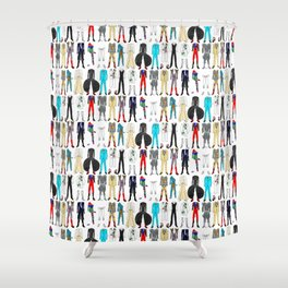 Star Costumes 1 Bowie Shower Curtain
