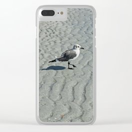Wednesday Waves Clear iPhone Case