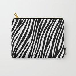 Animal print zebra Carry-All Pouch