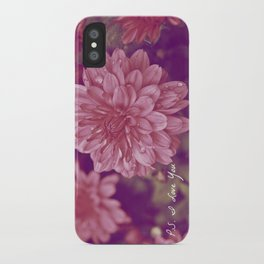 P.S. I Love You iPhone Case