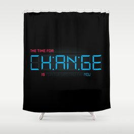 CH:AN:GE Shower Curtain