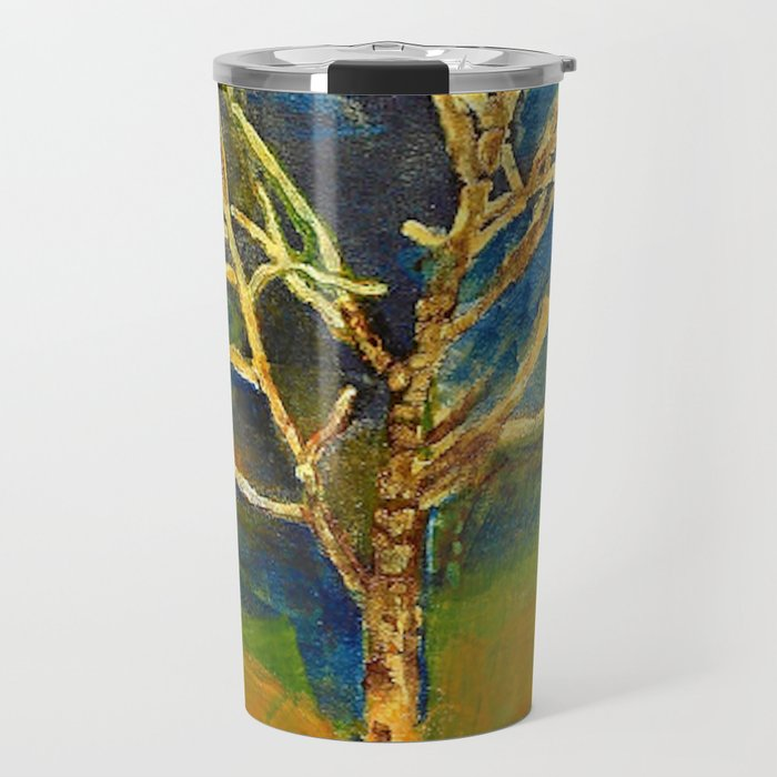 Golden Birch Travel Mug