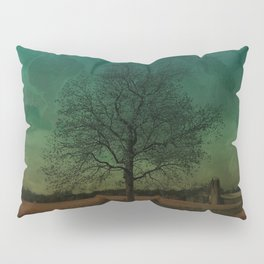 The Surface of Solitude-Effort Pillow Sham