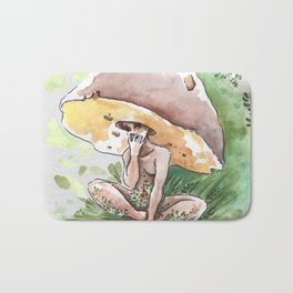 Empire of Mushrooms: Boletus Edulis Bath Mat