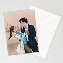 Sherlolly - Dancing in the Lab Stationery Cards