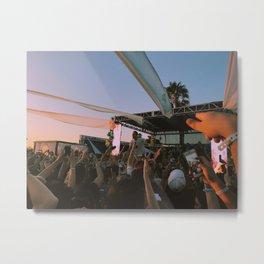 Sunset Concert Metal Print