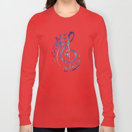 Iridescent Fantasy Abstract Long Sleeve T-shirt