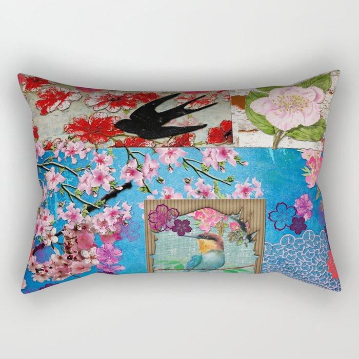 King of Cherry Blossom Rectangular Pillow