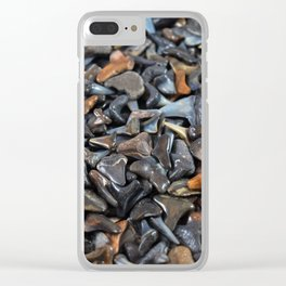 Florida - Fossil Shark Teeth Clear iPhone Case