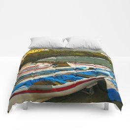 Portuguese harbour Comforters