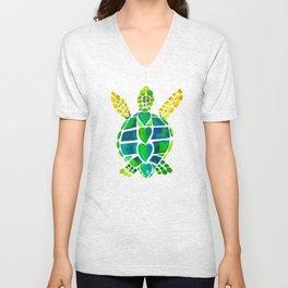 Turtle Love Unisex V-Neck