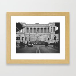 Tomb of the Unkown - Rome Framed Art Print