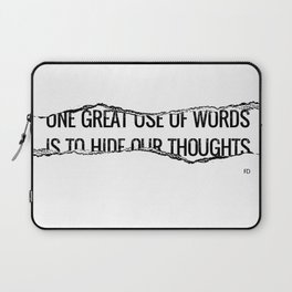 Use of Words Laptop Sleeve