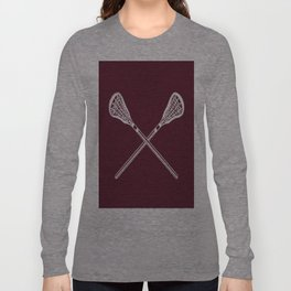 the bigger they are Long Sleeve T-shirt