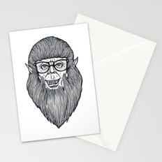 Nerdy Teen Wolf Stationery Cards