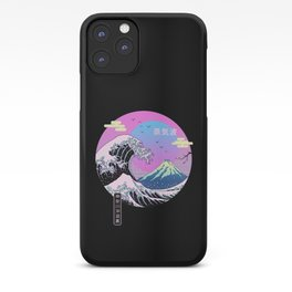 Wave Aesthetics iPhone Case