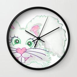 Funny Bunny Bed and Bath Wall Clock
