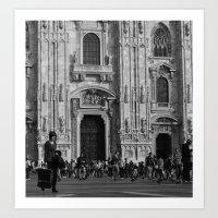 milan Art Prints featuring Milan by Emma Cingano