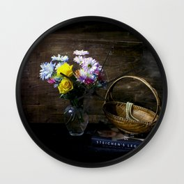 Painting a Scene with Lights Wall Clock